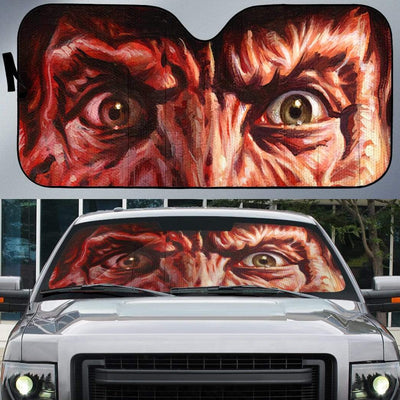 Custom Car Auto Sunshade Freddy Krueger HD-GH1581914-SS Auto Sunshade