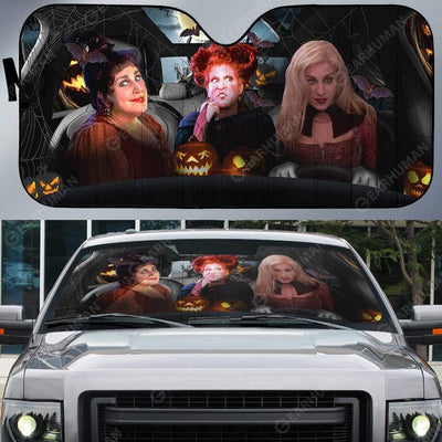 Custom Car Auto Sunshade Hocus Pocus HD-GH1981905-SS Auto Sunshade