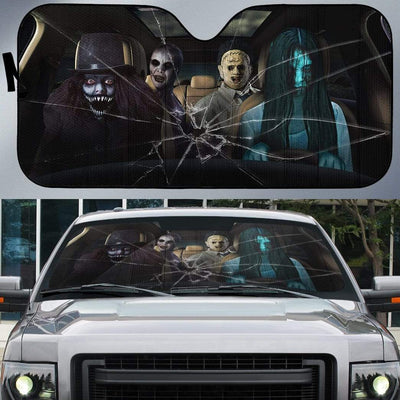 Custom Car Auto Sunshade Mass Murder HD-GH1581946-SS Auto Sunshade