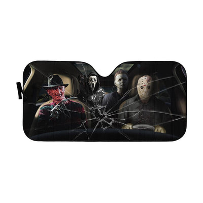 Custom Car Auto Sunshade Murder HD-GH1581940-SS Auto Sunshade 57''x27.5''