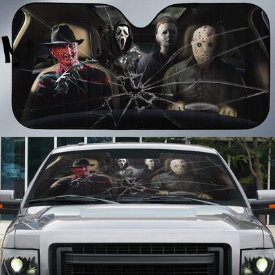 Custom Car Auto Sunshade Murder HD-GH1581940-SS Auto Sunshade
