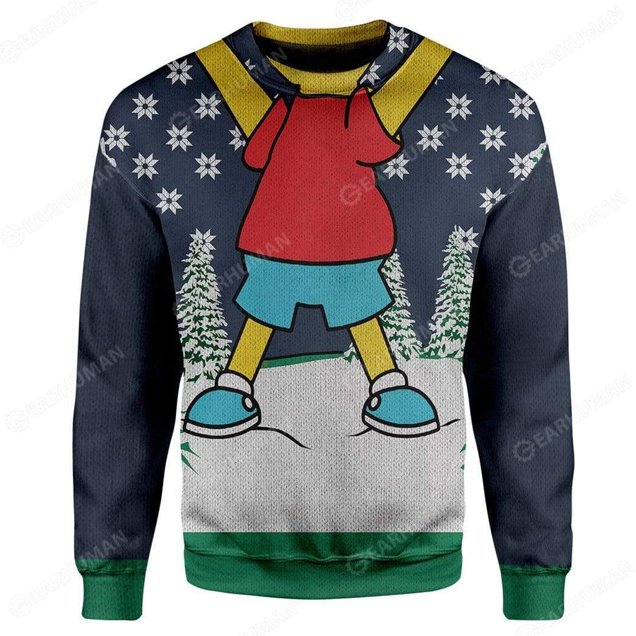 Custom Ugly Bart Simpsons Christmas Sweater Jumper HD-TA18101908 Ugly Christmas Sweater