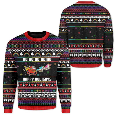 Custom Ugly Christmas Santa Sweater Jumper HD-DT21101907 Ugly Christmas Sweater