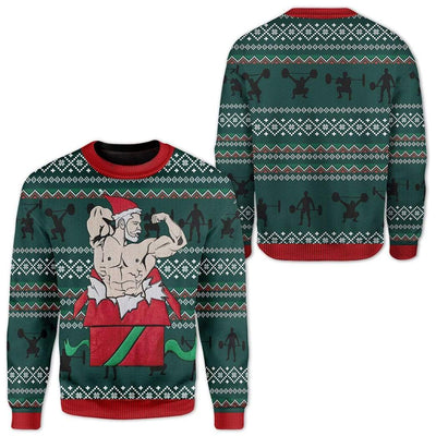 Custom Ugly Christmas Sweater Jumper HD-TT19101908 Ugly Christmas Sweater