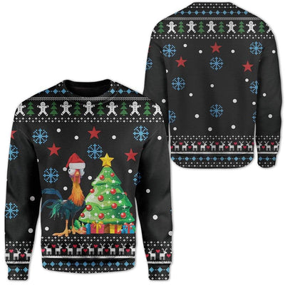 Custom Ugly Christmas Tree Sweater Jumper HD-TT22101902 Ugly Christmas Sweater