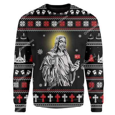 Custom Ugly Jesus Christmas Sweater Jumper HD-AT01111913 Ugly Christmas Sweater