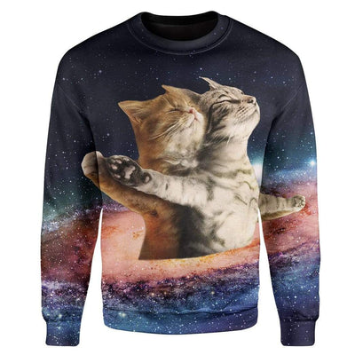 Galaxy Catanic Custom T-Shirts Hoodies Apparel CT-AT3112192 3D Custom Fleece Hoodies Long Sleeve S