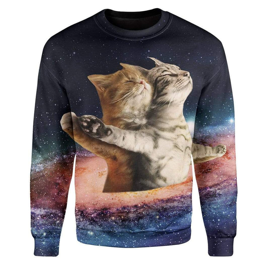 Galaxy Catanic Custom T-Shirts Hoodies Apparel CT-AT3112192 3D Custom Fleece Hoodies Hoodie S