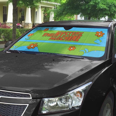 Geahuman 3D The Mystery Machine Custom Car Auto Sunshade GW20075 Auto Sunshade