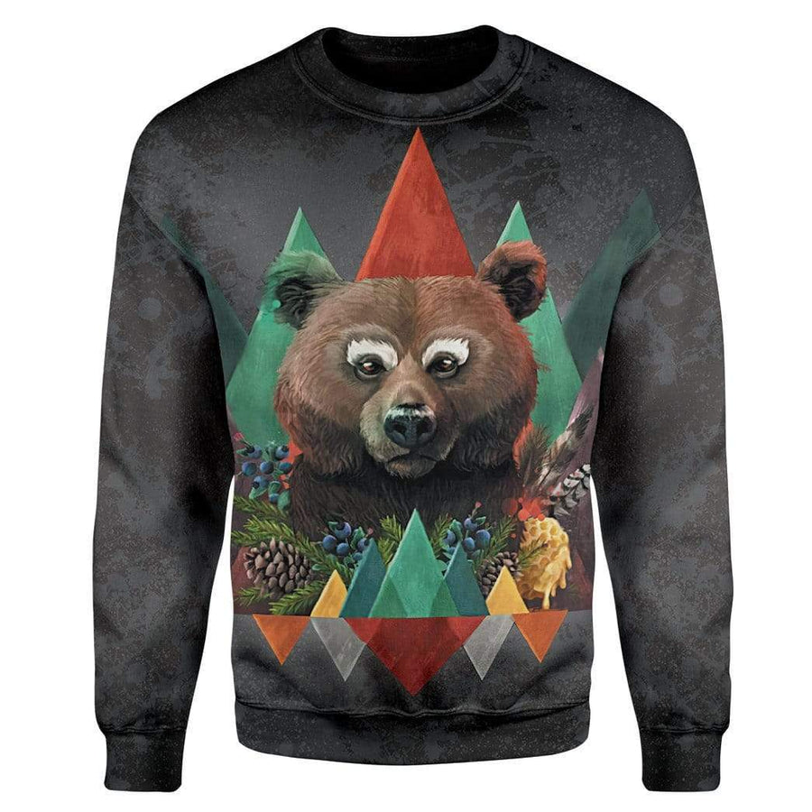 Gearhuman 3D Bear of Fall Custom T-Shirts Hoodies Apparel