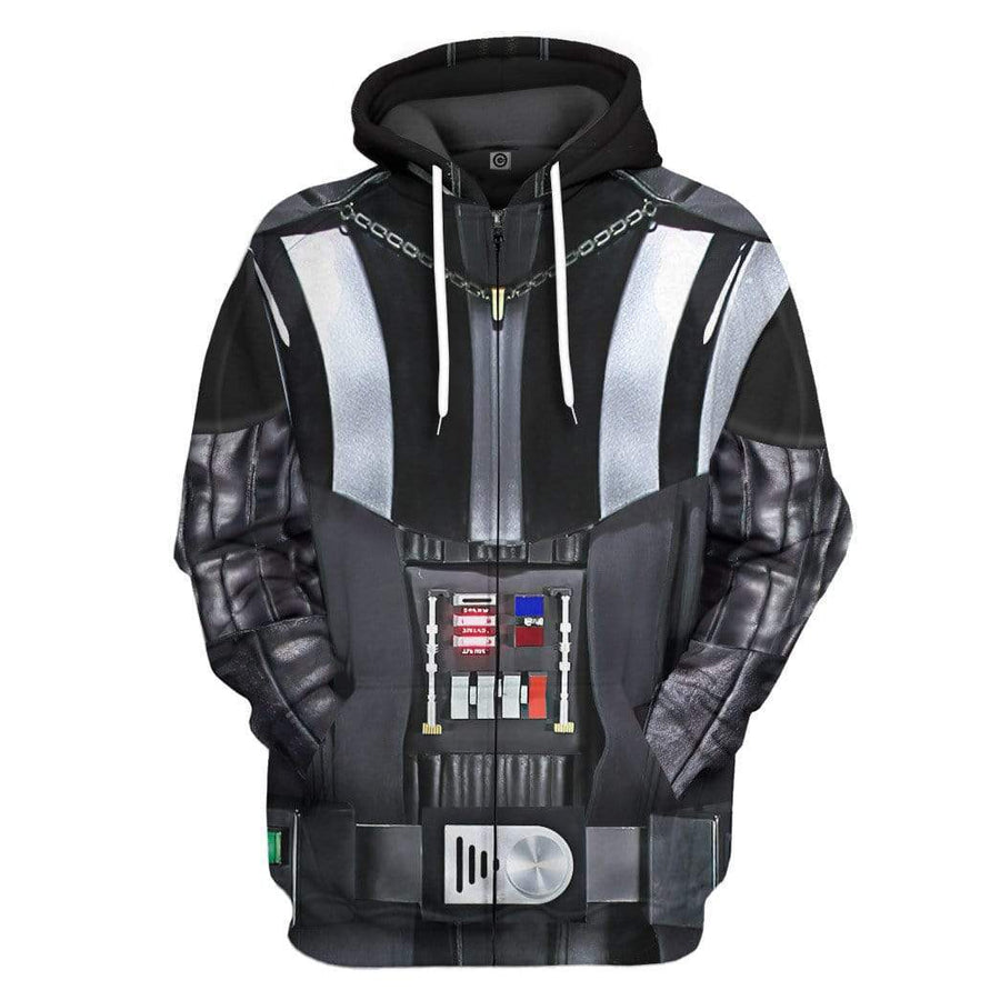 Gearhuman 3D Darth Vader Costume Custom Hoodie Apparel