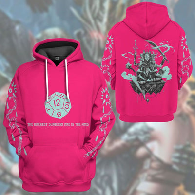 Gearhuman 3D Dungeon Master Custom Tshirt Hoodie Apparel CR17122 3D Apparel