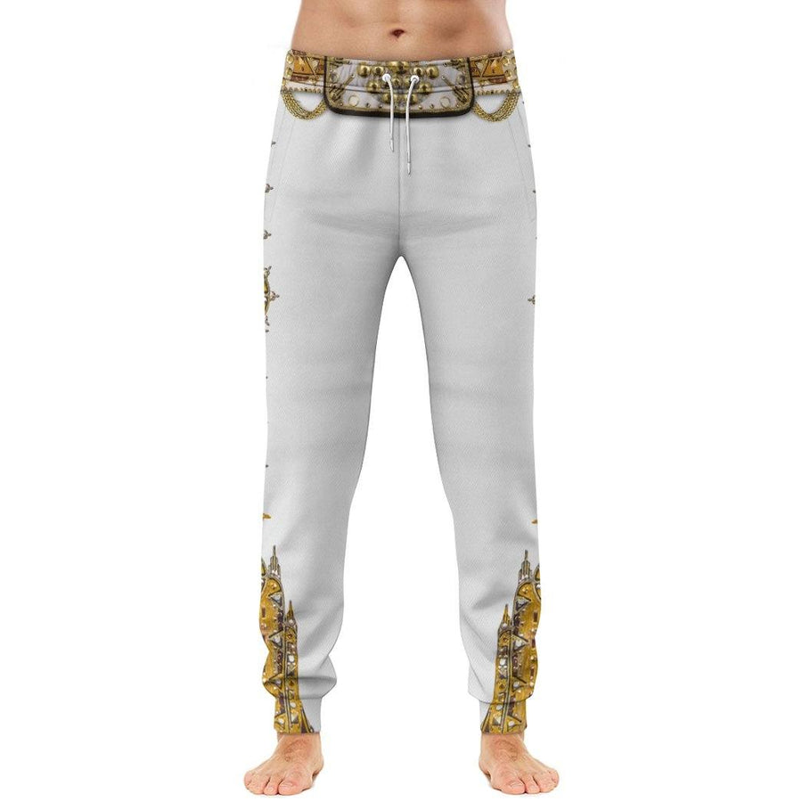 Gearhuman 3D Elvis Presley Custom Sweatpants Apparel GL17081 Sweatpants Sweatpants S