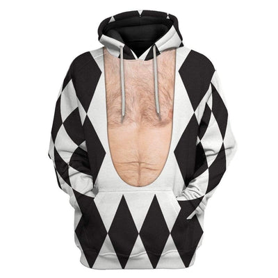 Gearhuman 3D Freddie Mercury Harlequin Custom Hoodie Apparel GN17086 3D Custom Fleece Hoodies Hoodie S