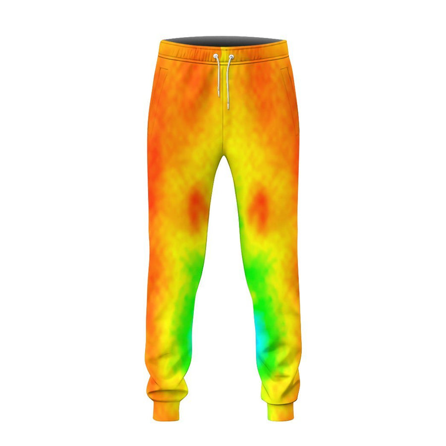 Gearhuman 3D Halloween Body Temperature Sweatpants Apparel GN22085 Sweatpants Sweatpants S