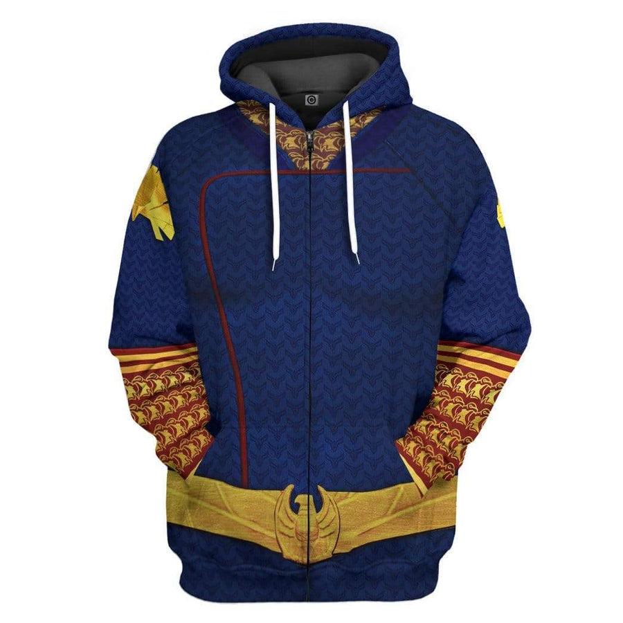 Gearhuman 3D Homelander The Boys Custom Hoodie Apparel GW24076 3D Custom Fleece Hoodies Hoodie S