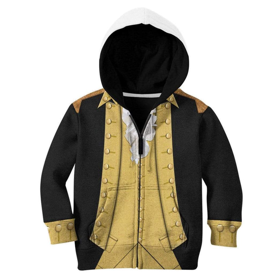 Gearhuman 3D Kid George Washington Hoodie Apparel