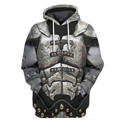 Gearhuman 3D KISS Gene Demon Custom Hoodie Apparel GL120841 3D Custom Fleece Hoodies Hoodie S