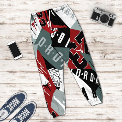 Gearhuman 3D Michael Jordan 23 Custom Sweatpants GW08104 Sweatpants