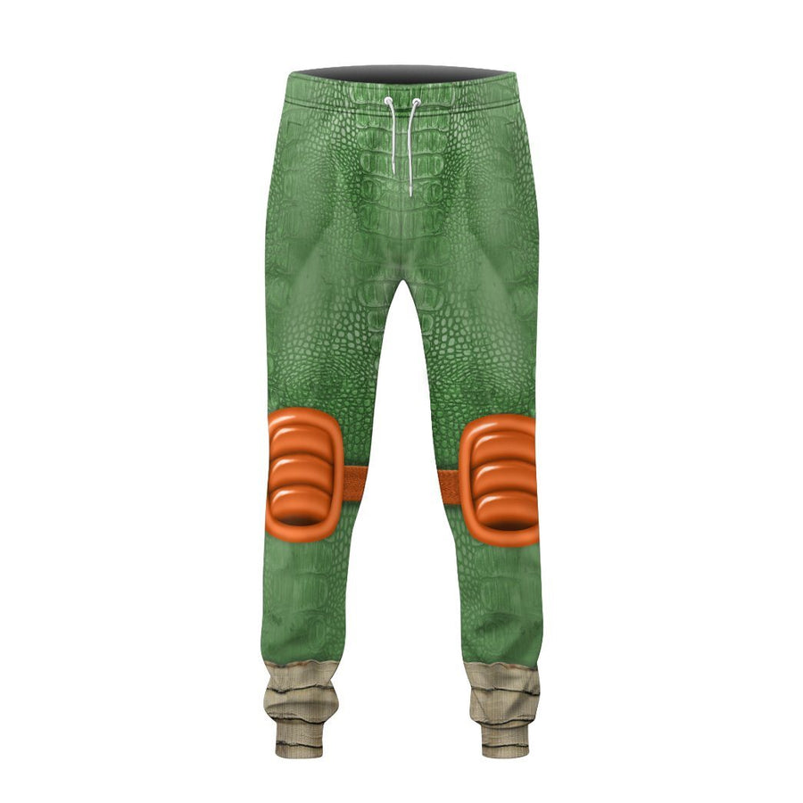 Gearhuman 3D Michelangelo TMNT Mike Mikey Cosplay Custom Sweatpants