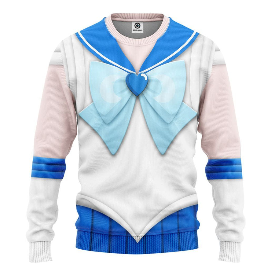 Gearhuman 3D Sailor Mercury Custom Tshirt Hoodie Apparel