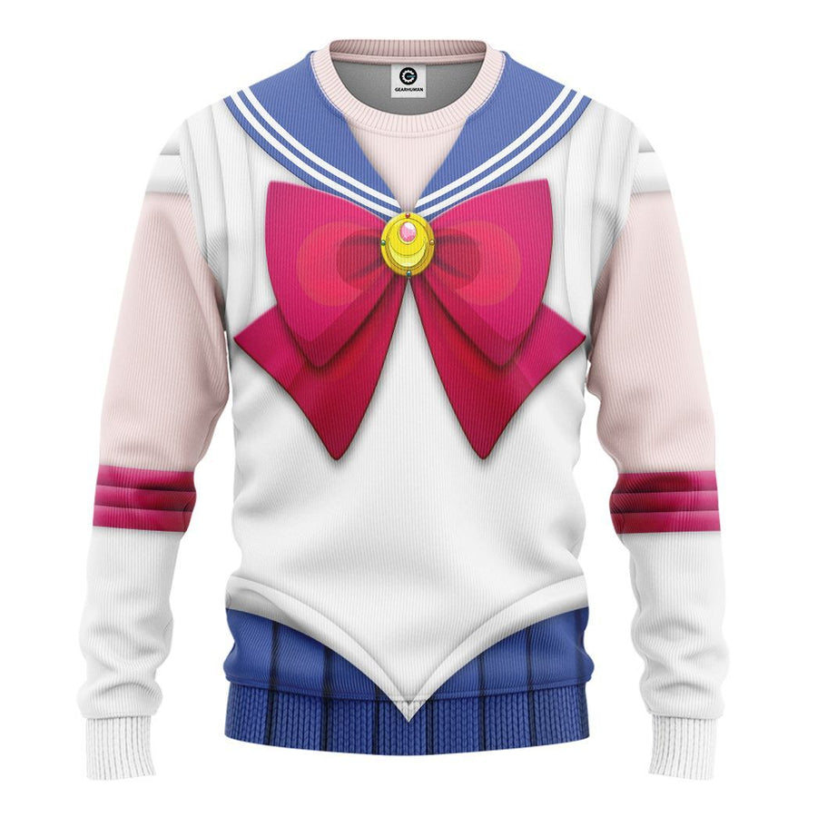 Gearhuman 3D Sailor Moon Custom Tshirt Hoodie Apparel