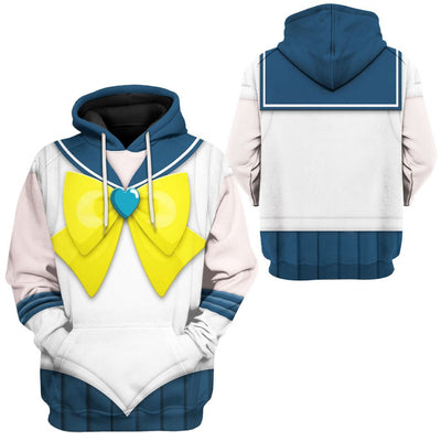 Gearhuman 3D Sailor Uranus Custom Tshirt Hoodie Apparel CC15127 3D Apparel