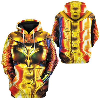 Gearhuman 3D Wonder Woman 1984 Colourful Custom Tshirt Hoodie Appreal CU03121 3D Apparel
