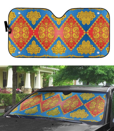 gearhumans 3D David Bowie Custom Car Auto Sunshade GL210825 Auto Sunshade