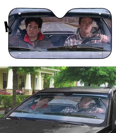 gearhumans 3D How I Met Your Mother Custom Car Auto Sunshade GW120810 Auto Sunshade