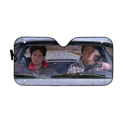 gearhumans 3D How I Met Your Mother Custom Car Auto Sunshade GW120810 Auto Sunshade 57''x27.5''