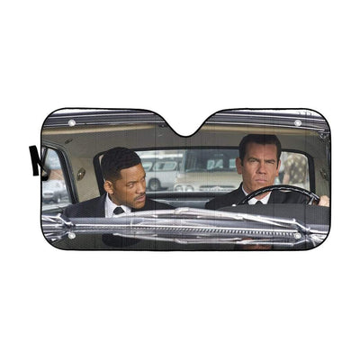 gearhumans 3D Men In Black Custom Car Auto Sunshade GL05088 Auto Sunshade 57''x27.5''