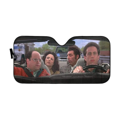 gearhumans 3D Seinfeld Custom Car Auto Sunshade GS27073 Auto Sunshade 57''x27.5''