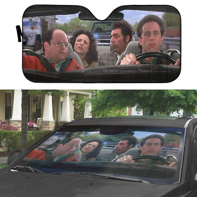 gearhumans 3D Seinfeld Custom Car Auto Sunshade GS27073 Auto Sunshade