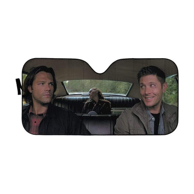 gearhumans 3D Supernatural Custom Car Auto Sunshade GV030818 Auto Sunshade 57''x27.5''
