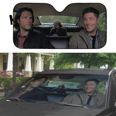 gearhumans 3D Supernatural Custom Car Auto Sunshade GV030818 Auto Sunshade