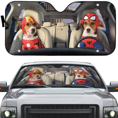 gearhumans 3D The Beaglevenger Custom Car Auto Sunshade GW21081 Auto Sunshade