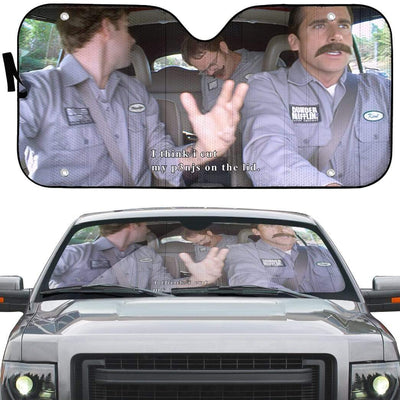 gearhumans 3D The Office Branch War Custom Car Auto Sunshade GN18074 Auto Sunshade