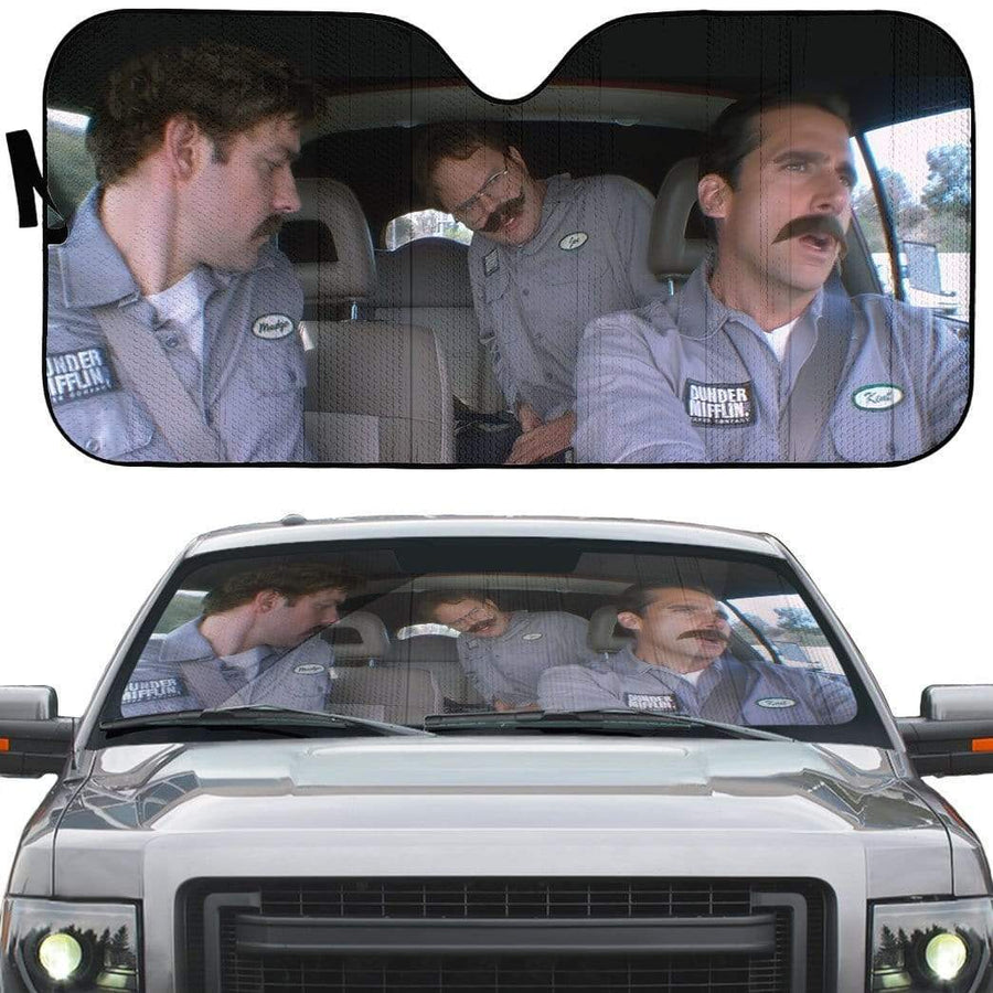 gearhumans 3D The Office Branch Wars Soda Can Situation Custom car Auto Sunshade