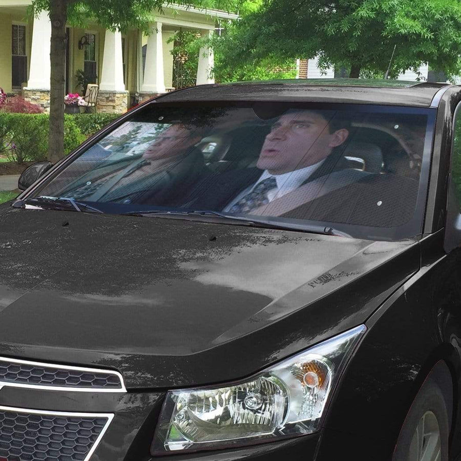 gearhumans 3D The Office Custom Car Auto Sunshade