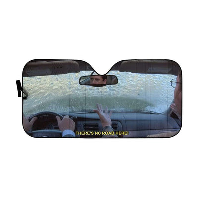 gearhumans 3D The Office Michael Drives Into Lake Custom Car Auto Sunshade GW310718 Auto Sunshade 57''x27.5''