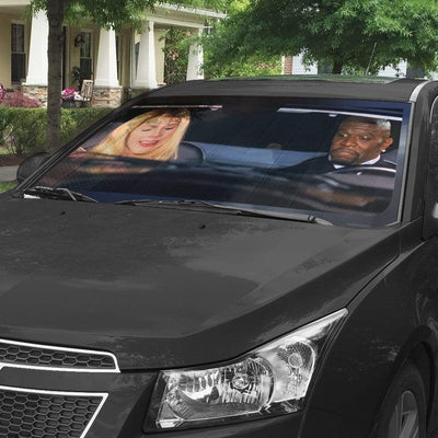 gearhumans 3D White Chicks Custom Car Auto Sunshade GW27077 Auto Sunshade