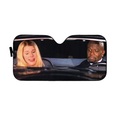 gearhumans 3D White Chicks Custom Car Auto Sunshade GW27077 Auto Sunshade 57''x27.5''