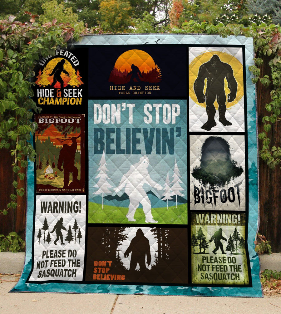 Hide And Seek World Champion Bigfoot Quilt