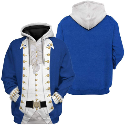 Hoodie Custom Alexander Hamilton Apparel T28811 3D Custom Fleece Hoodies