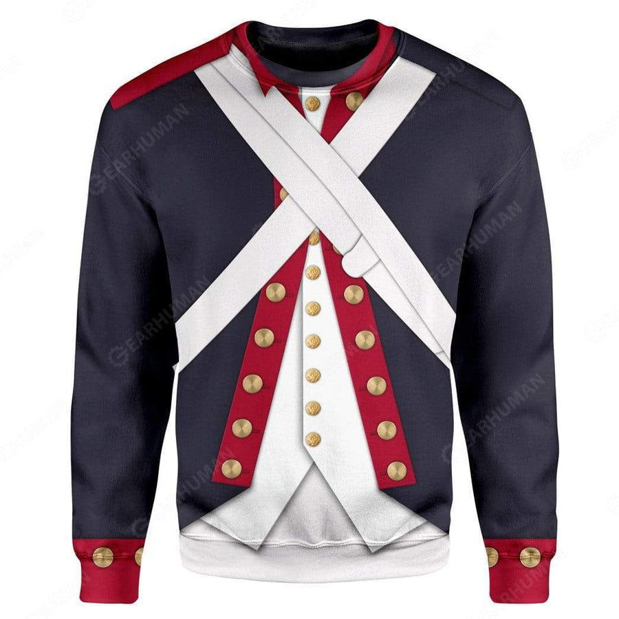 Gearhumans Hoodie Custom Continental Army Apparel