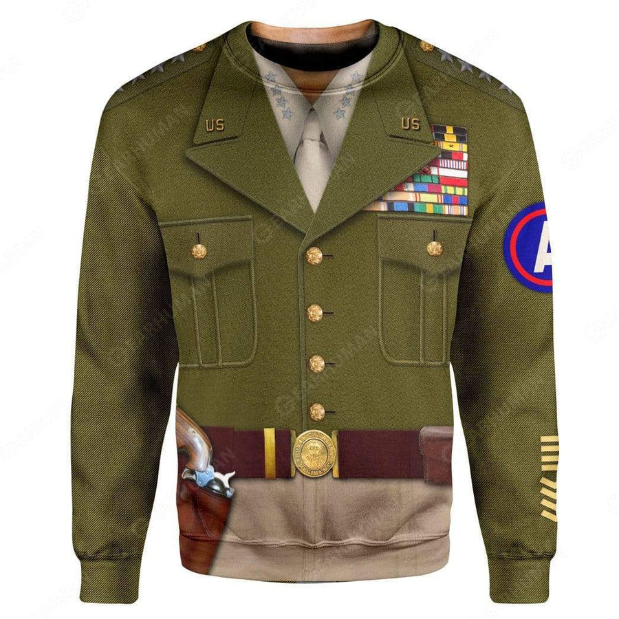Hoodie Custom George Smith Patton Apparel HD-DT1991913 3D Custom Fleece Hoodies Hoodie S