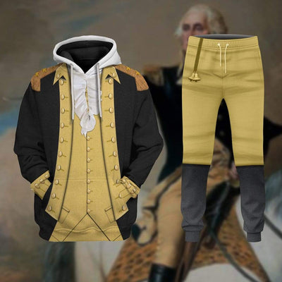 Hoodie Custom George Washington T-shirt - Hoodies - Sweater Apparel HD-GH1106169 3D Custom Fleece Hoodies