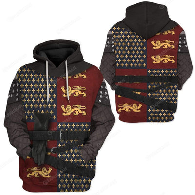 Hoodie Custom Henry V Apparel HD-TT14101922 3D Custom Fleece Hoodies