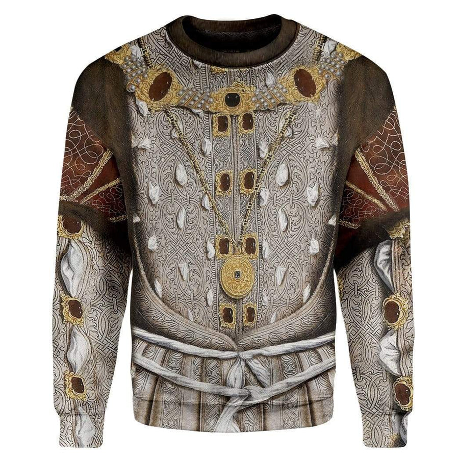 Hoodie Custom Henry VIII of England Apparel